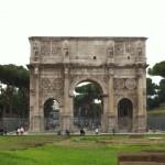 Arc de Constantin dans le forum romain