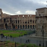Le Colisée vu du forum