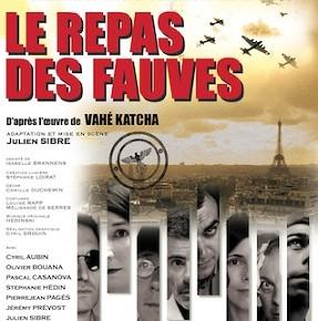 """""""Le repas des fauves"""" au Théâtre Michel"""
