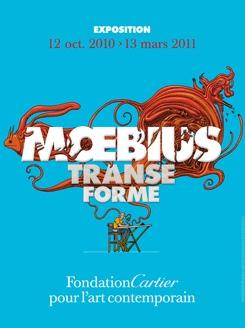 Moebius Transe Forme à la Fondation Cartier