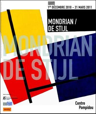 Mondrian / De Stijl au Centre Georges Pompidou