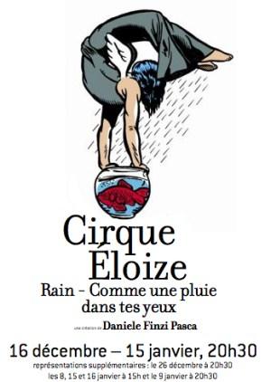 """Cirque Eloize """"Rain - Comme une pluie dans tes yeux"""" au Théâtre du Rond-Point"""
