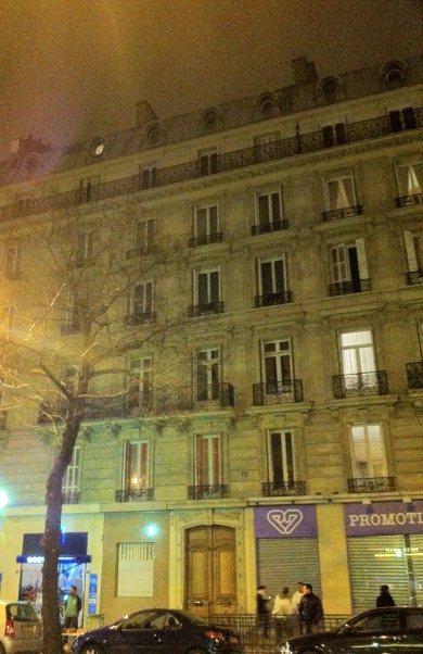 Un immeuble du boulevard Voltaire