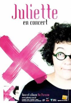 """""""No parano"""" de Juliette aux Folies Bergère"""