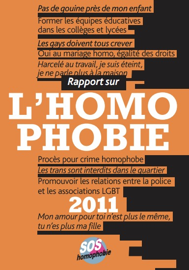 Journée internationale contre l'homophobie (IDAHO 2011)