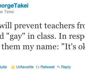 Citation Twitter de George Takei