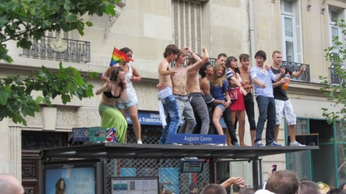 Gay Pride (Marche des Fiertés) - Paris 2011