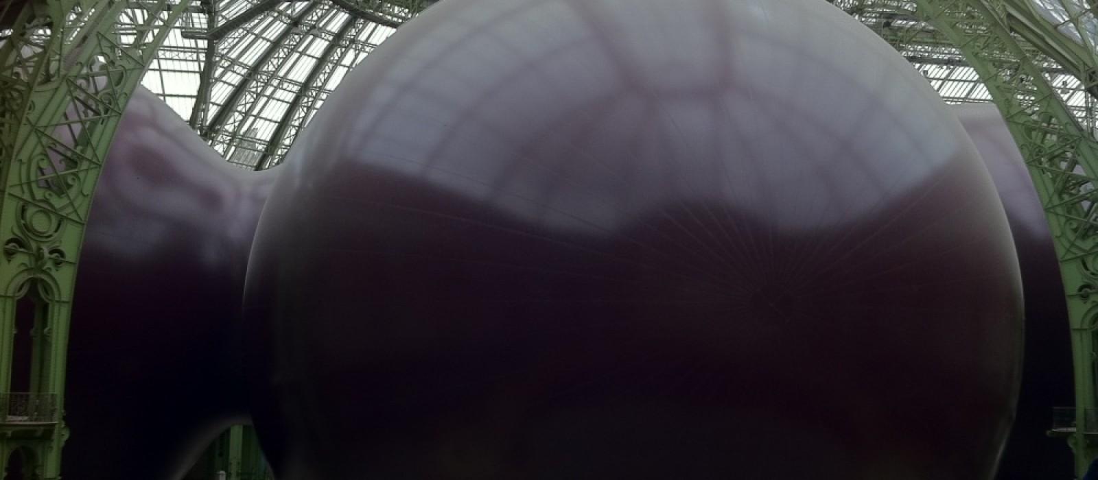 Leviathan au Grand Palais de Anish Kapoor (dans le cadre de Monumenta 2011)