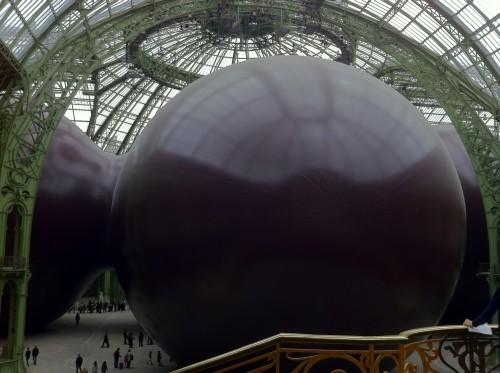 Vue de Leviathan (Monumenta 2011) au Grand Palais - panorama