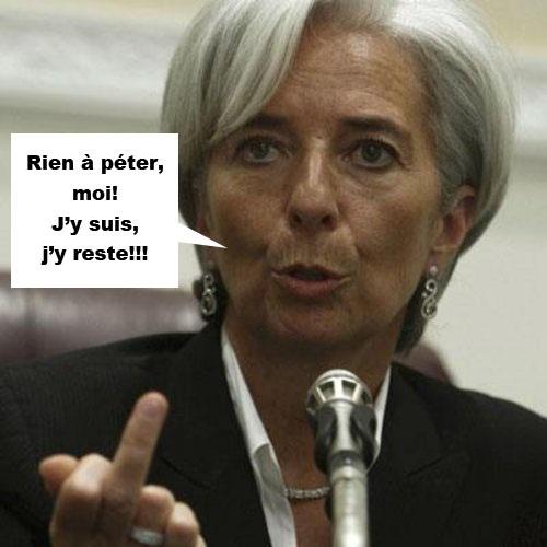 Lindingre sur Lagarde au FMI
