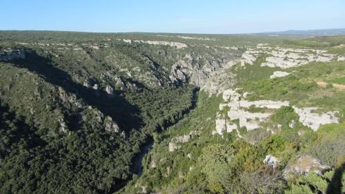 Gorges de la rivière Cesse près de Minerve