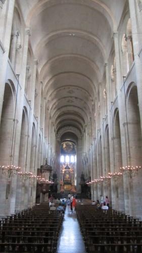 Intérieur de la Basilique Saint-Sernin de Toulouse