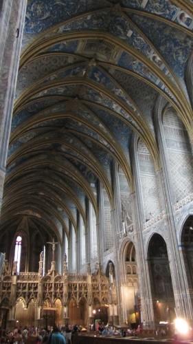 Nef de la Cathédrale Sainte-Cécile d'Albi