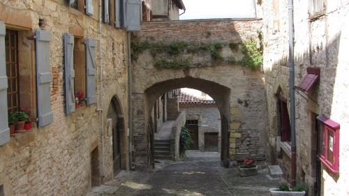 Rue typique de Cordes-sur-Ciel