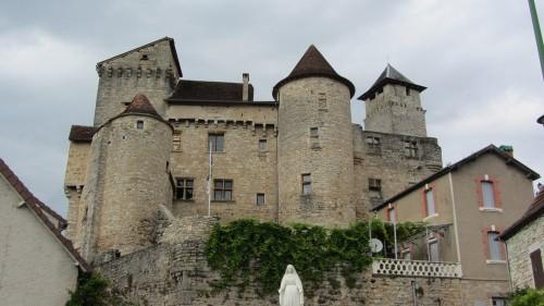Une demeure privée à Salvagnac-Cajarc