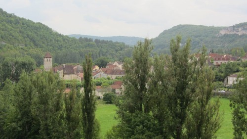 Vue de Marcilhac-sur-Célé