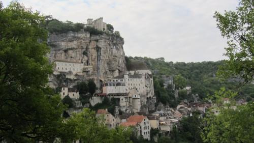 Arrivée sur Rocamadour