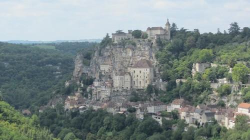 Vue panoramique de Rocamadour