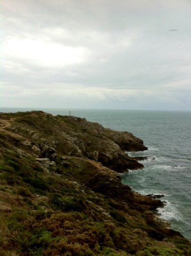 Vue de la pointe du Grand Mont à Saint-Gildas-de-Rhuys