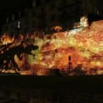 Nuit des Chimères - Muraille romaine du IIIème siècle du Mans