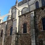 Un des anciens murs de la Cathédrale Saint Julien du Mans