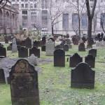 New York - cimetière près de Wall St