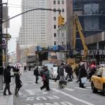 New York - vue d'une rue près de Wall St