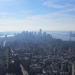 New York - Vue de Downtown de l'Empire State Building