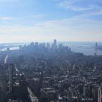 New York - Vue de Downtown de l'Empire State Building