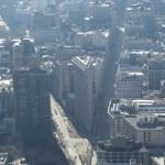 New York - Vue du Flat Iron de l'Empire State Building