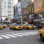 New York - Taxis jaunes !!