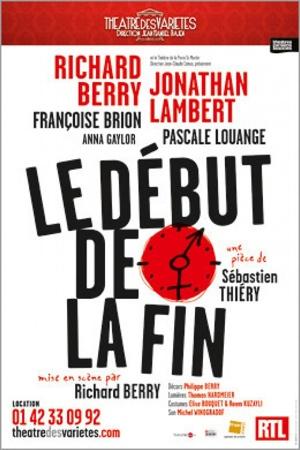 """""""Le début de la fin"""" de Sébastien Thiéry au Théâtre des Variétés"""