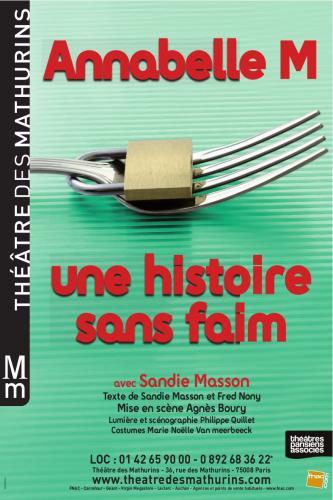 Annabelle M – histoire de la faim au Théâtre des Mathurins