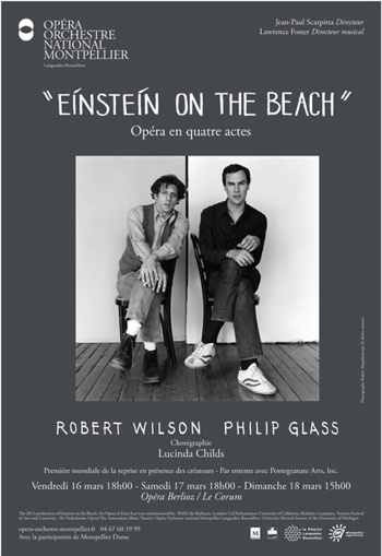 Einstein on the beach de Philip Glass et Bob Wilson au Corum de Montpellier