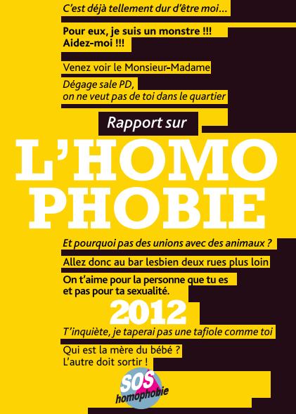 Rapport SOS Homophobie 2012