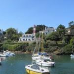 Vue du port de Doëlan - Clohars-Carnoët
