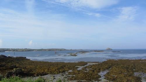Vue sur l'Île d'Ouessant