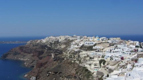 Vue de Oia - Santorin