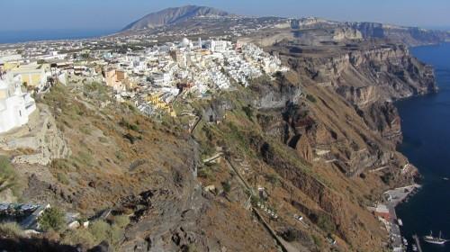 Vue de Fira - Firostefani - Santorin