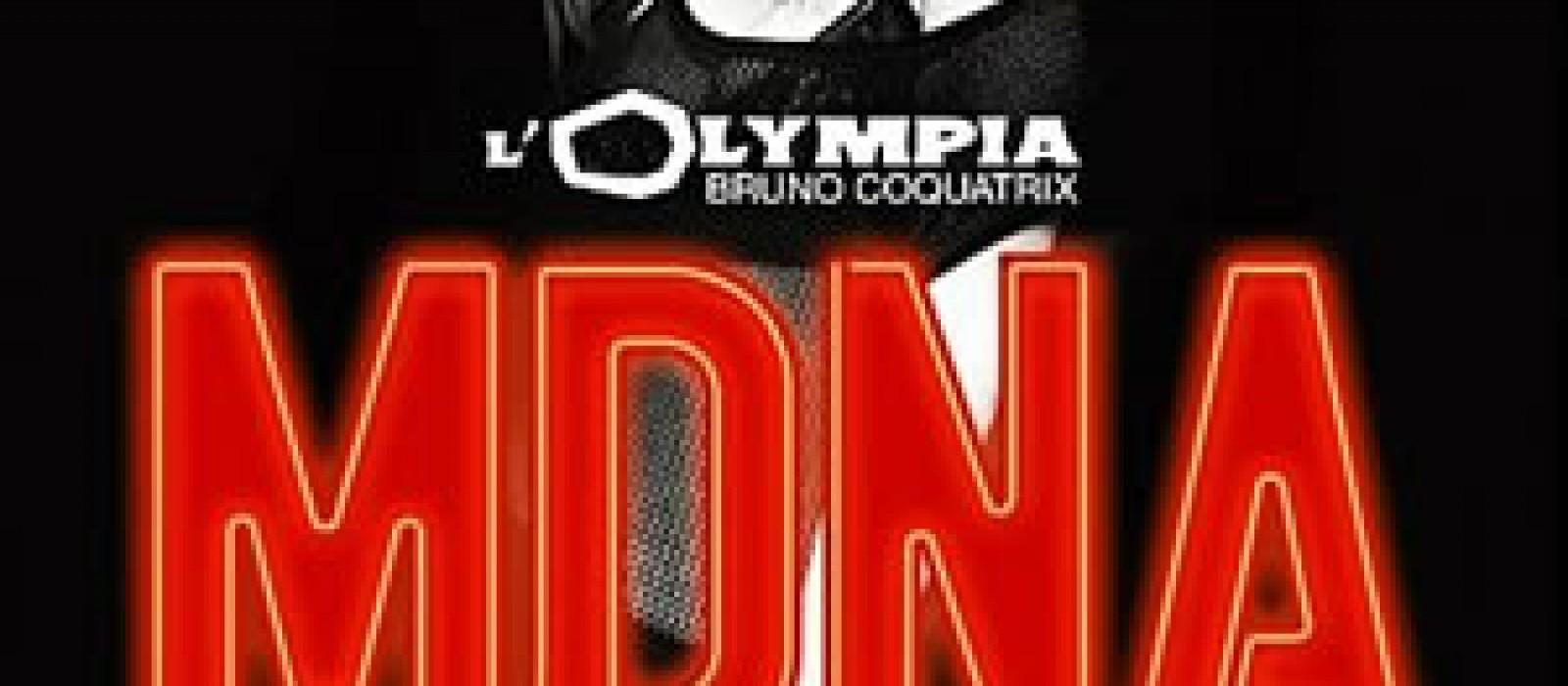 MDNA Tour 2012 de Madonna à l'Olympia