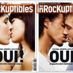 Couverture des Inrocks sur le mariage pour tous