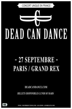 Dean Can Dance au Grand Rex