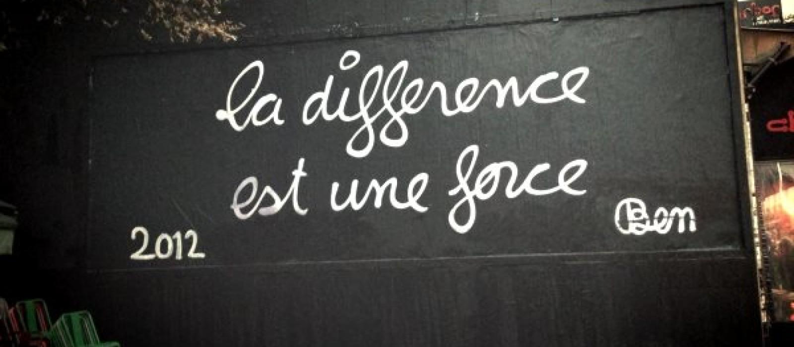 La différence est une force
