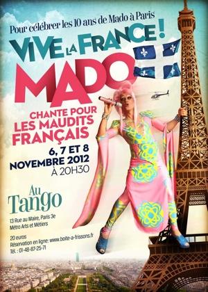 """""""Vive la France ! """" de Mado au Tango"""