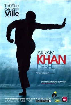 «Desh» de Akram Khan au Théâtre de la Ville