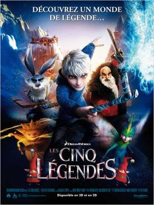 Les Cinq légendes (The rise of the guardians)