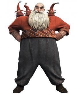 Père-Noël des 5 légendes