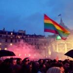 Manifestation contre l'homophobie et pour l'Egalité
