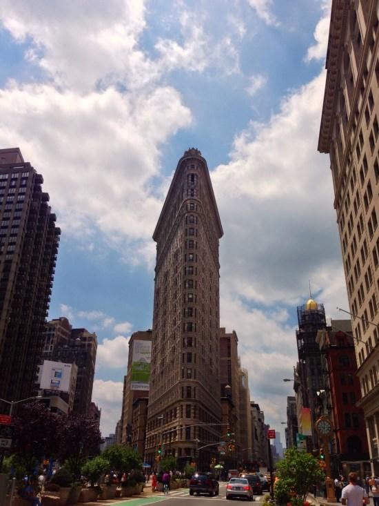 Flat Iron à New York
