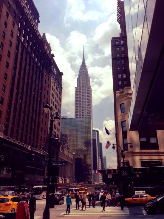 Chrysler Buidling de Madison Av. à New York